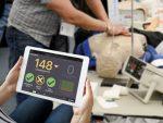 CPR Metrix Kontrollbox und iPad für CRISIS und CPARLENE Übungspuppen