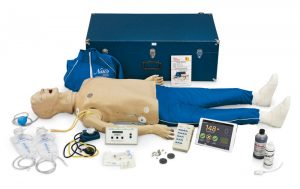 "Deluxe ""Plus"" CRiSis-Puppe mit CPR Metrix und iPad"